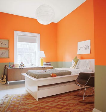 Miscellaneous benjamin moore calypso orange - Fotos de dormitorios ...