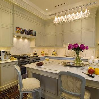 Crystal Chandelier Design Ideas - Crystal chandelier in kitchen