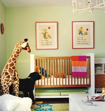 Nursery Benjamin Moore Chameleon