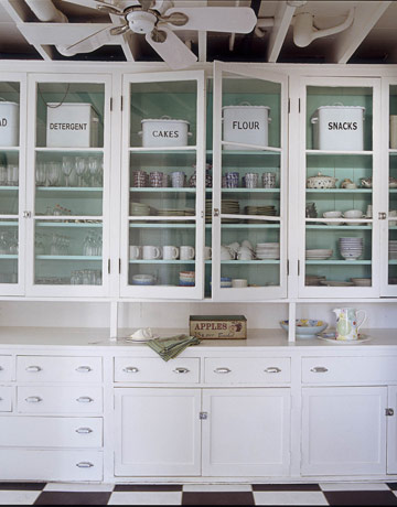 high gloss white kitchen cabinets ikea clean pantry glass front love blue paint turquoise colors frosted