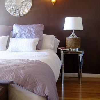 Chocolate Brown Bedroom, Contemporary, bedroom, Benjamin Moore Chocolate Sundae