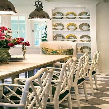 Bamboo Chair, Transitional, dining room, Windsor Smith Home
