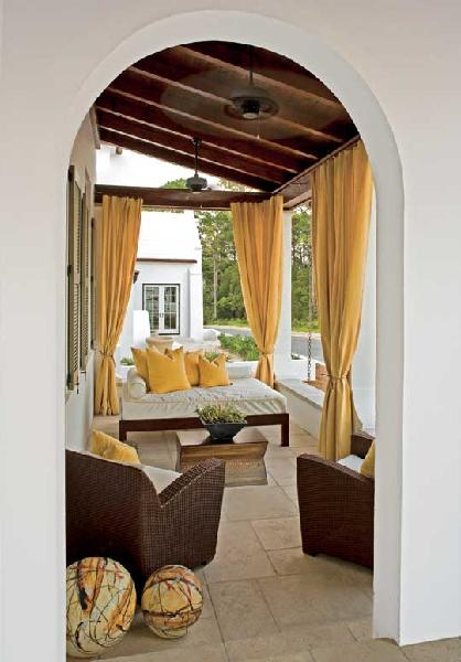 Yellow Curtains Design Ideas
