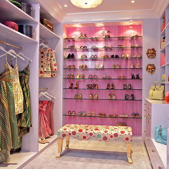 Captivating Pink Closet