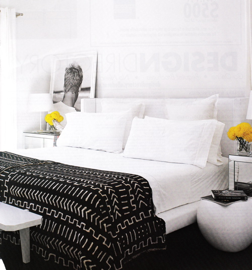 Black And White Bedroom Design Ideas