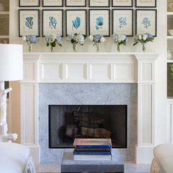 Art Over Fireplace - Design photos