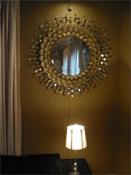 Brass Handmade Mirror