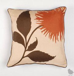 Thomas Paul Dahlia Silk Twill Pillow