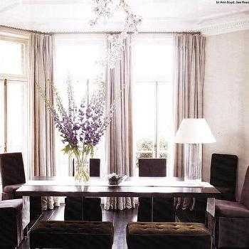 Purple dining room walls design ideas for Purple dining room wall art