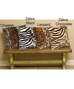Swell Various Colors Animal Print Faux Sealskin Throw Pillows Uwap Interior Chair Design Uwaporg