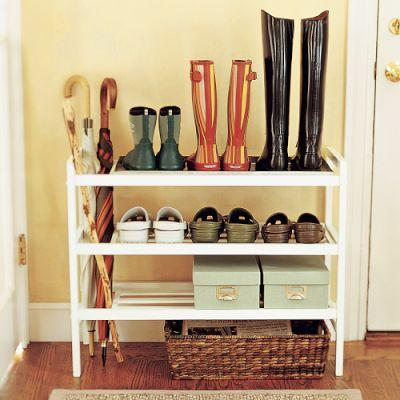 mudroom shoe rack 1