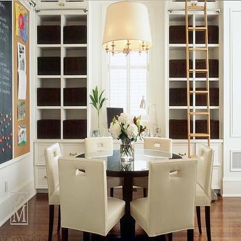Bauhaus Chandelier, Contemporary, dining room, Sloan Mauran Interior Design