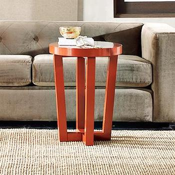 Parsons Cube Side Table White West Elm