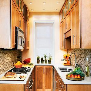 Galley Kitchen, Transitional, kitchen