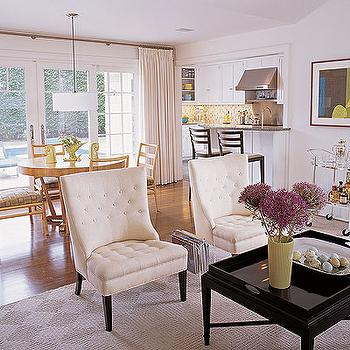 Tray Coffee Table, Cottage, living room