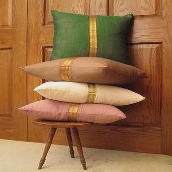 Sari Border Pillows