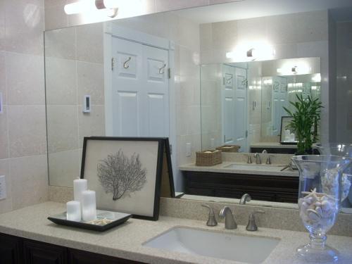Crema marfil marble contemporary bathroom - Best paint color for crema marfil bathroom ...