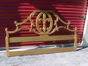 John Widdicomb King Size Headboard, $100 (Saugatuck)