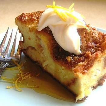 Cream Puffs in Venice: WCC #4: Lemony Bread-Pudding French Toast