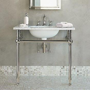 Apothecary Single Sink Console Pottery Barn
