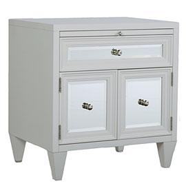 White Concerto Nightstand