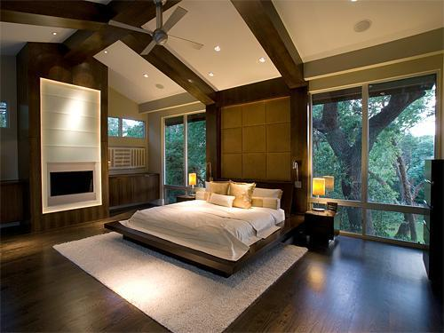 Modern clean lined master bedroom bedrooms rate my Clean modern interior design