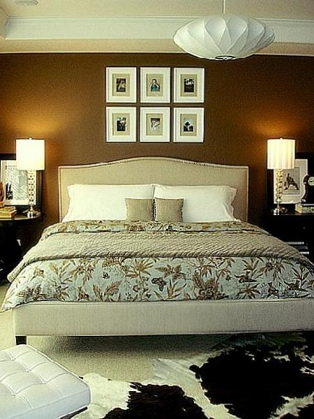 Soothing master bedroom bedrooms rate my space hgtv Master bedroom art above bed