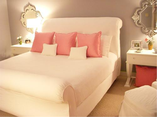 light pink and white bedroom pink bedroom retreat design 19054