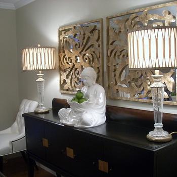 Gold Capiz Mirrors