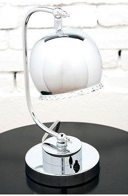 Beautiful Silver Lilly Desk Lamp