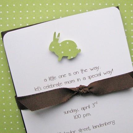 7b11168bc0a2 bunny baby shower invitations bunny baby shower invitation peter,Baby Shower Invitations With Ribbon