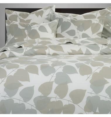 ava gray block pattern bedding