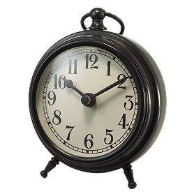 Antique Bronze Table Clock at World Market