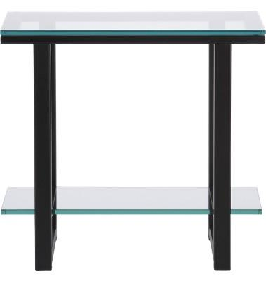 Glass Black Side Table