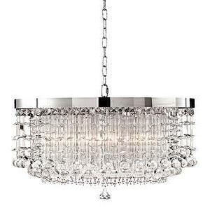modern christal chandelier