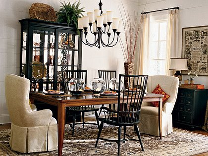 Captain Dining Room Chairs - Traditional - dining room