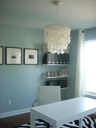 den library office benjamin moore smoke. Black Bedroom Furniture Sets. Home Design Ideas