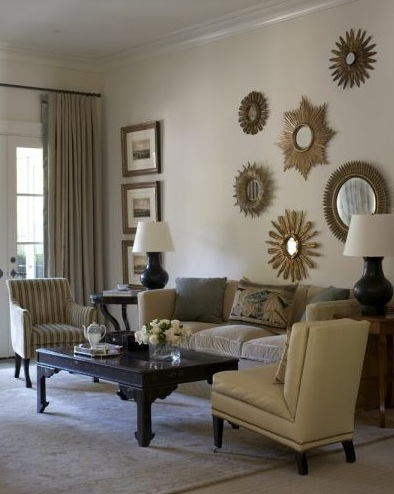 Gold Sunburst Mirror Design Ideas