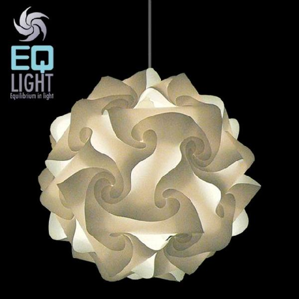 Modern contemporary cream pendant light for Contemporary lighting pendants
