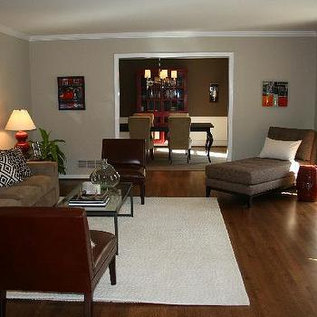 Red And Brown Living Room Part 88