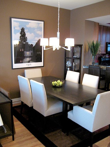 Parsons Dining Table Design Ideas
