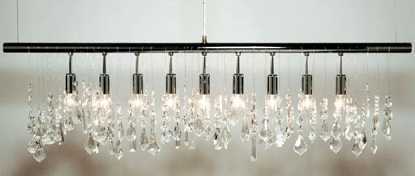 Linear Strand Crystal Chandelier Chandeliers Design – Dwr Chandelier