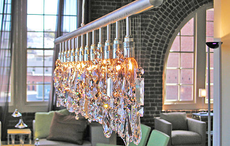 Linear Crystal Chandelier Look 4 Less and Steals and Deals – Linear Chandelier Crystal