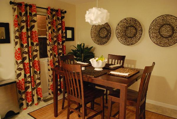Dining room for Pier 1 dining room pictures