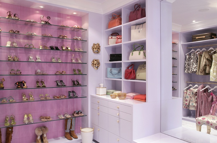 Shelves For Shoes Contemporary Closet Drake Design Associates