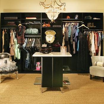 Dressing Room Cabinets, Contemporary, closet