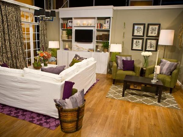 genevieve gorder living room hgtv showdown battle of the designer mixed doubles 13252