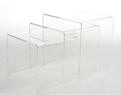 Overstock Acrylic Nesting End Tables View Full Size