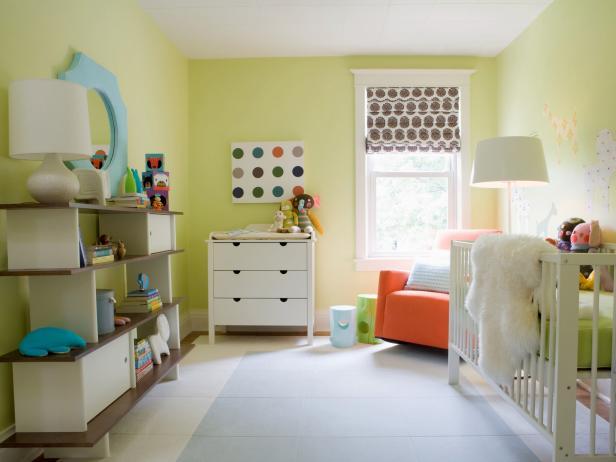 Nursery - Benjamin Moore Celadon Green