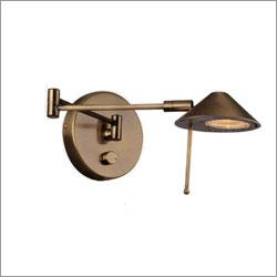 Lite Source LS-16350AB, Swing Arm One Light Wall Sconce in Antique Brass